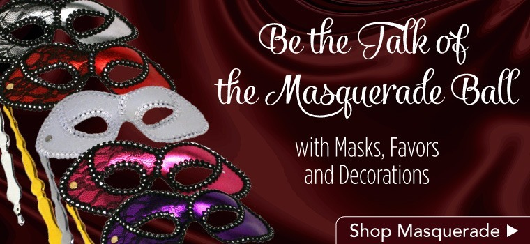 Masquerade Ball Party Supplies