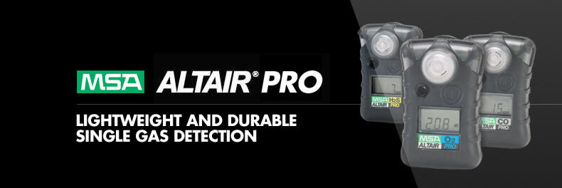 MSA Altair Pro Single Gas Detector