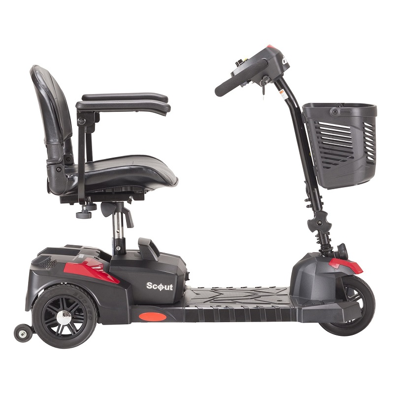Drive Medical Scout 3 Wheel Scooter Lightweight