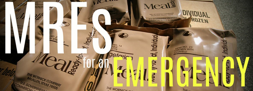 MRE's for Emergencies