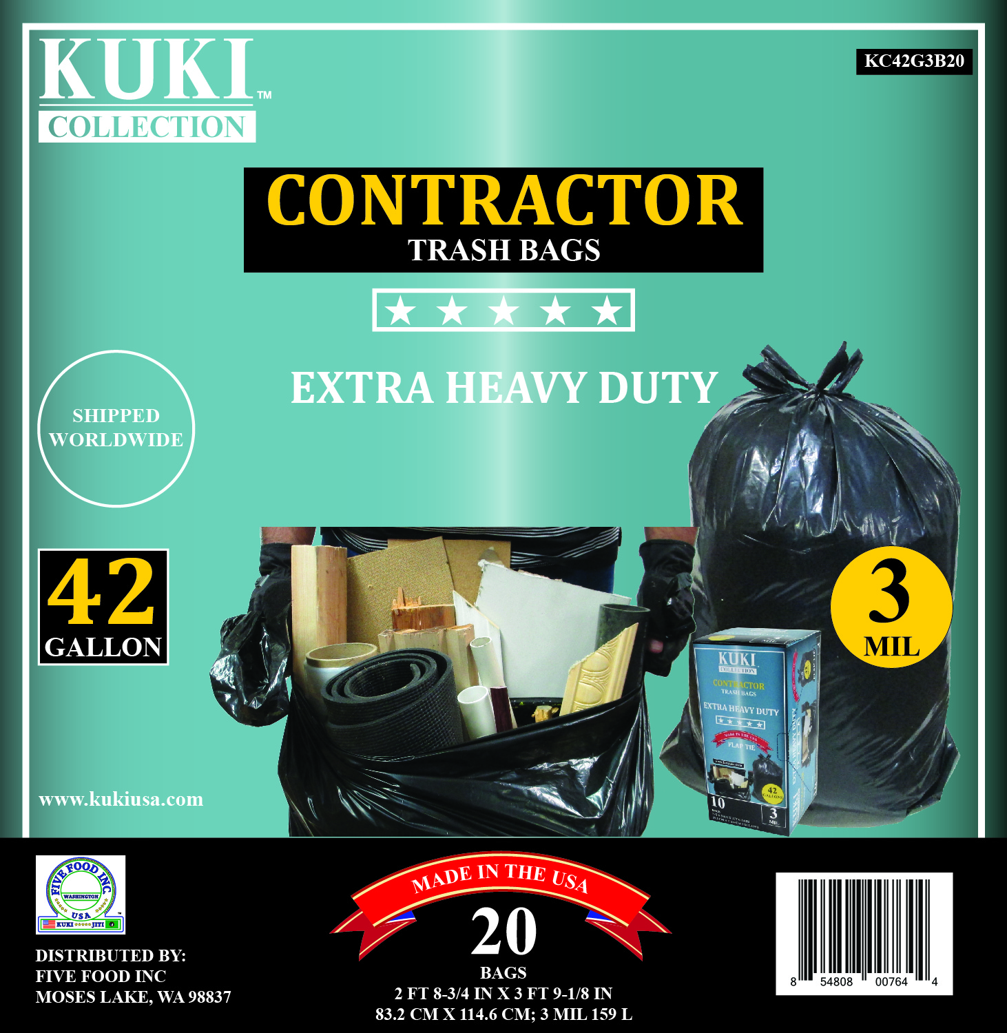 Trash Duty For Students With Special >> Trash Can Liners Contractor Special 42 Gal