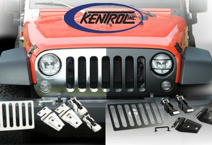 Kentrol Stainless Jeep Accessories for Jeep CJ & Wrangler