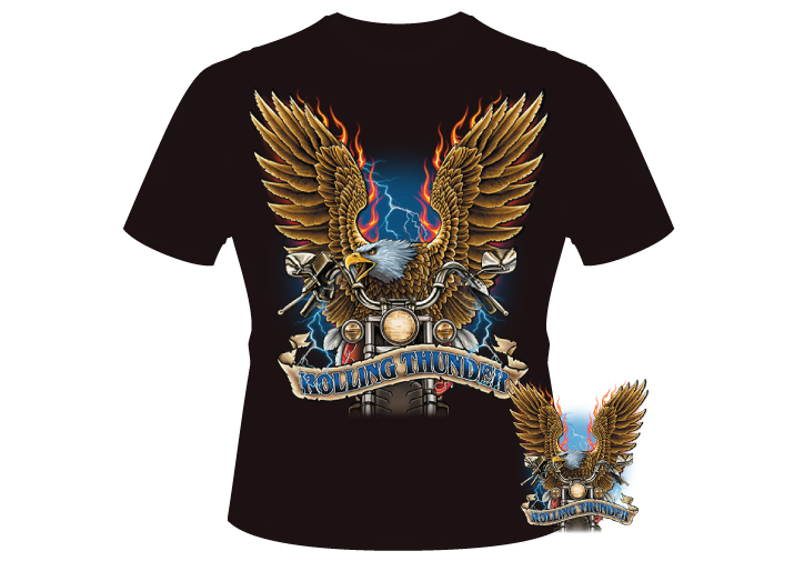 Men's rolling thunder Shirt
