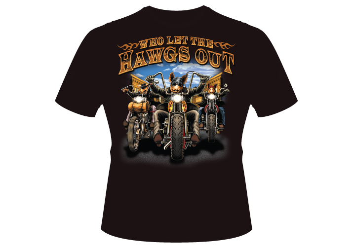 Men's hawgs Shirt
