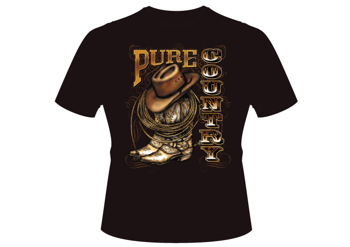 Men's pure cowboy Shirt