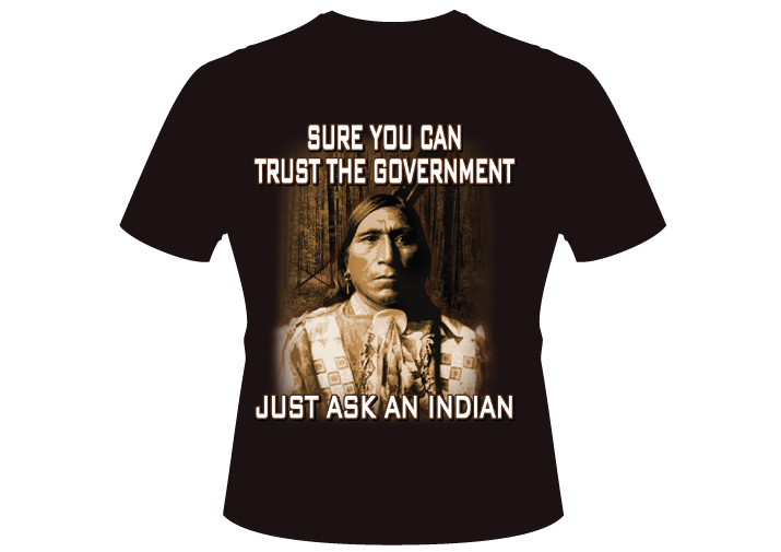 Men's Just Ask An Indian Shirt