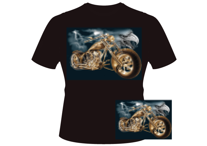 Men's eaglechopper Shirt