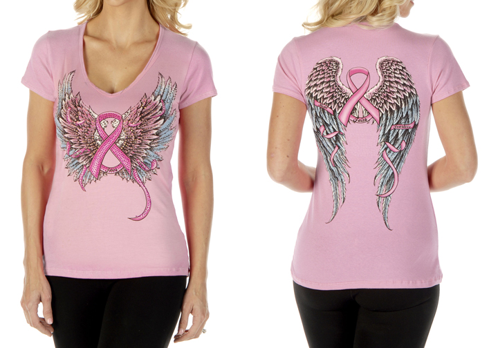 Women's Faith, Hope, Fearless Loose Fit Short Sleeve Top