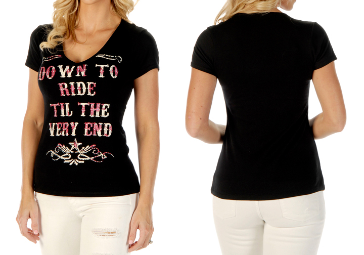 Women's Down to Ride Short Sleeve Top