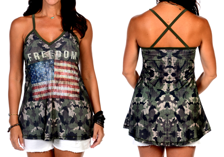 freedom halter top
