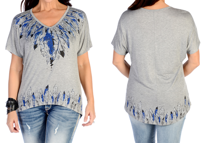 many feathers comfort tee
