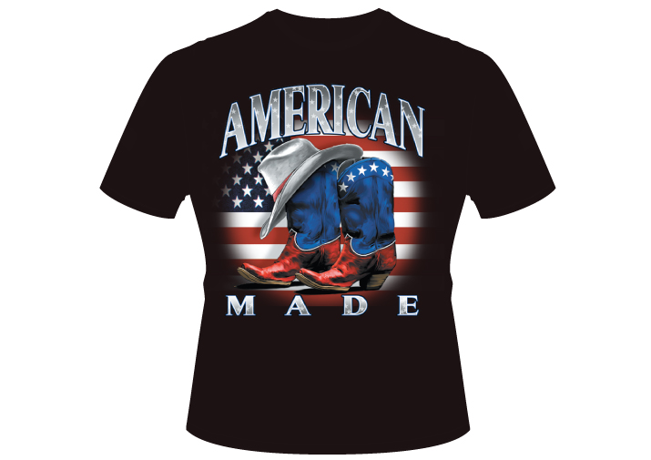 Men's american made cowboy Shirt