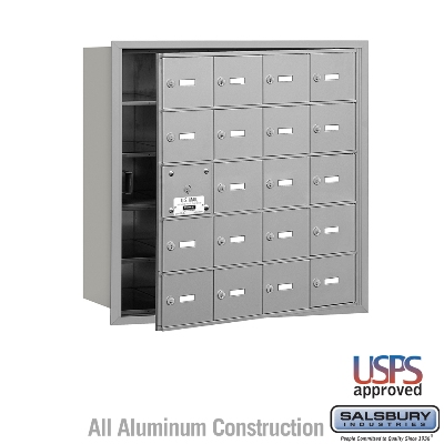 4B Horizontal Mailboxes