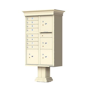 8 Large Capacity Decorative Door Cluster Box Units