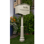 Geneva Designer Locking Curbside Mailbox