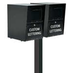 Locking Curbside Multiple Unit Mounting Options