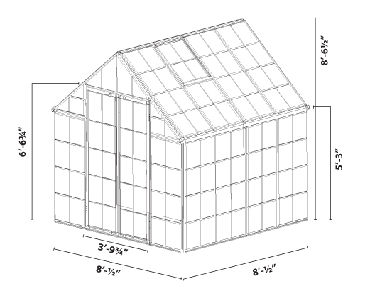polycarbonate greenhouse assembly instructions