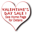 Valentine's Sale, Feb 7th -23rd 2018