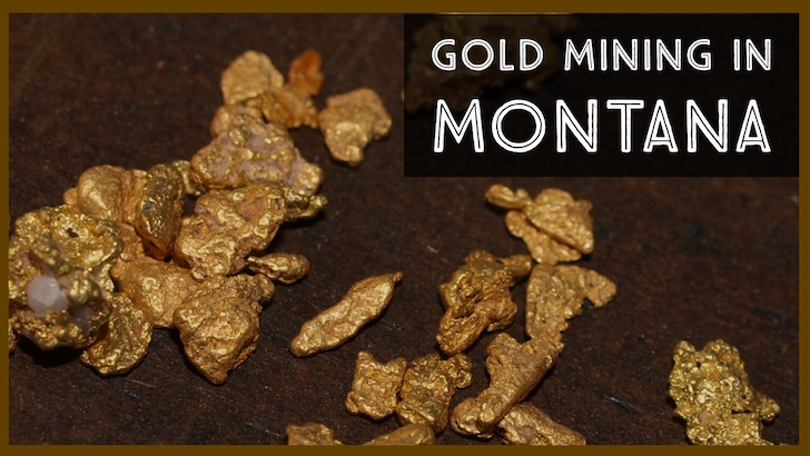 Where to find Gold in Montana. Panning and Prospecting