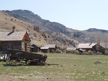 Bannack, Montana - Ghost Towns and Gold Rushes of Montana