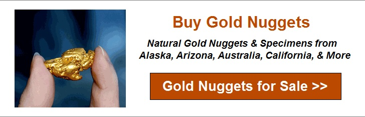 Gold nugget purity