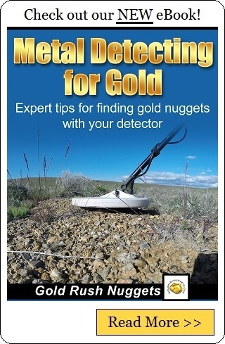 Prospecting Gold Tailing Piles with a Metal Detector