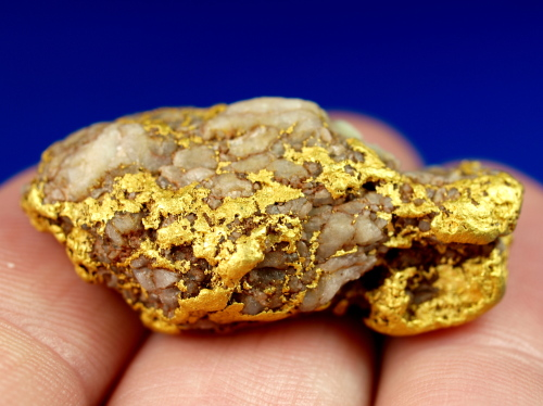 how to clean gold in quartz