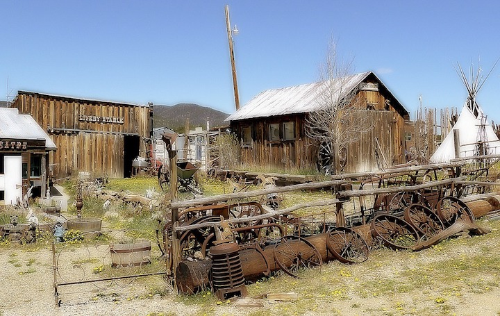 11 of New Mexico's Richest Mining Towns (see Map)