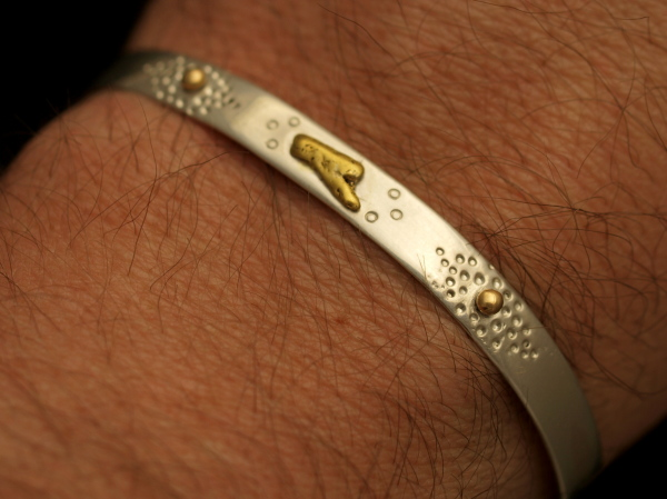 Natural Gold Nugget Cuff Bracelet Buy Nugget Jewelry