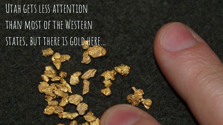 Gold In Utah Panning And Prospecting