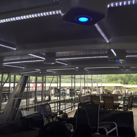 Boat Canopy Lighting