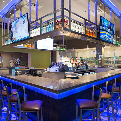 Bar and restaurant lighting