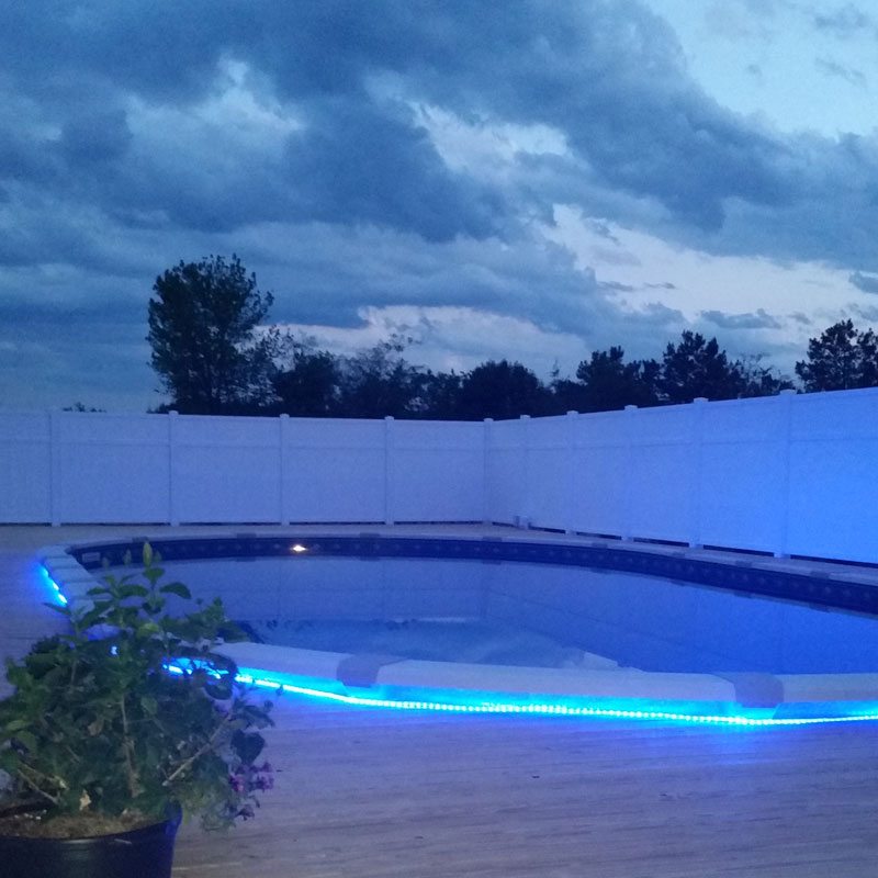 Led Rope Light For Swimming Pool: Featured Client Jobs