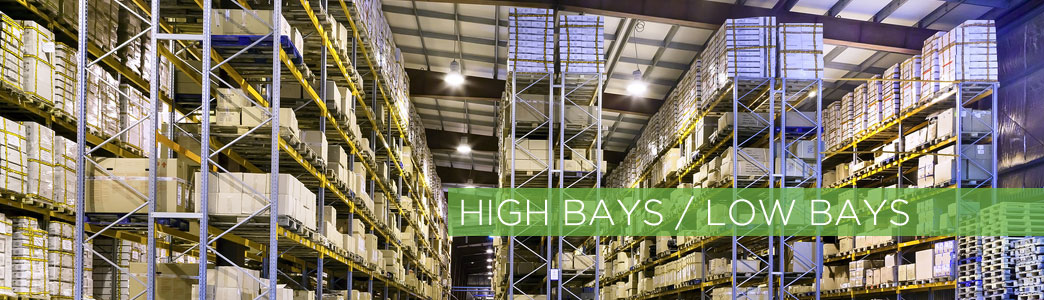 Industrial high bay light fixtures