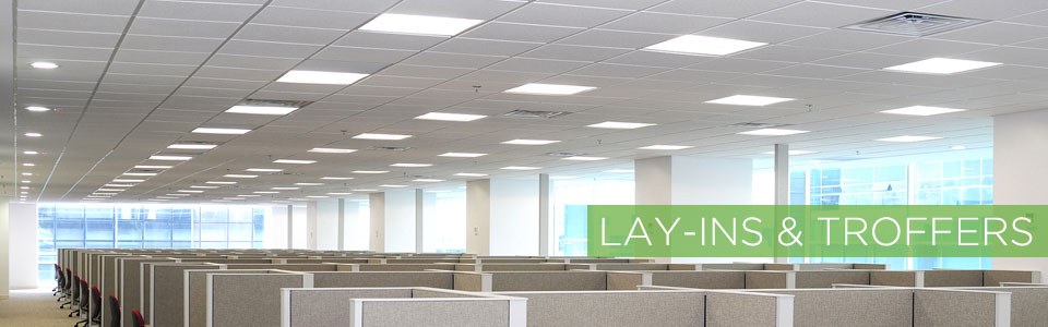 Our recessed LED troffers and architectural lay-ins are from companies like H.E. Williams Nora Lighting ETI SSL and Halco Lighting Technologies. & LED Troffers and Lay-Ins u2013 TakeThreeLighting.com