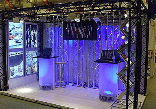 Dramatic Led Trade Show Lights Take Three Lighting