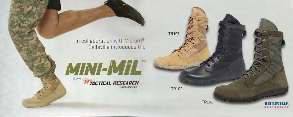 Belleville 590 Boots Tactical Research TR960Z WP Boots Tactical Research  TR101 Minimil Boots 1389d7b56e