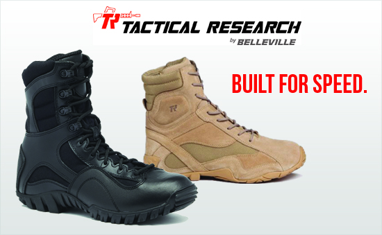 Tactical Research Boots