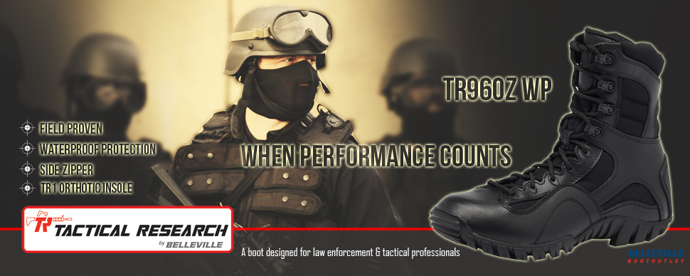 Tactical Research TR960Z WP Boots