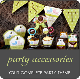 Party Packs, Favors, Personalized Banners by Amy's Card Creations
