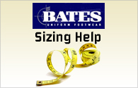 Bates Boot Sizing
