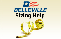 Belleville Boot Sizing