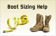 Combat Boot Sizing Guide