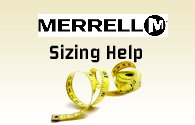 Merrell Boot Sizing