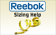 reebok Boot Sizing