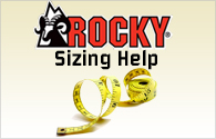 Rocky Boot Sizing