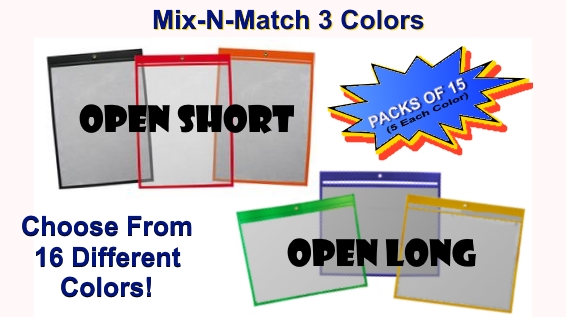 Color Variety Packs