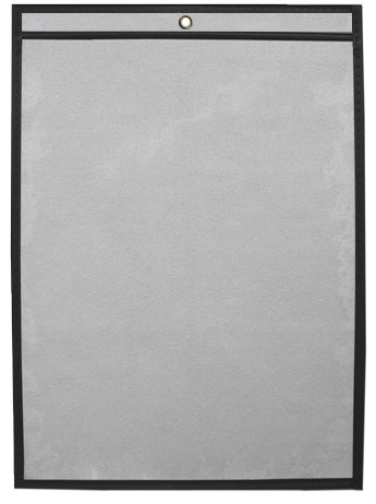 Economy 8.5 x 11 Single Panel Vinyl Job Jackets/Envelopes, Click on the Color Wheel to see available colors