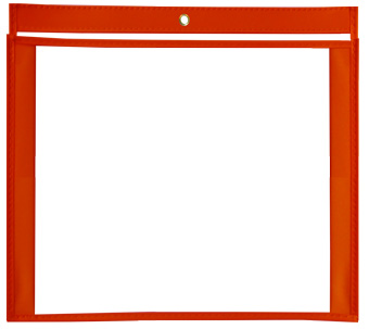 14 x 11 Gusseted Vinyl Job Jackets/Envelopes, Click on the Color Wheel to see available colors