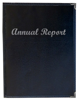 Impression™ 8.5 x 14 Black Presentation Holder with Silver Imprinting